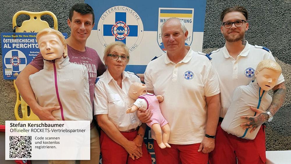 Stefan Kerschbaumer unterstützt die ÖWR Perchtoldsdorf